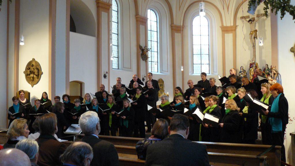 Hospizkreis Miesbach - cantica nova holzkirchen in der Stadtpfarrkirche Miesbach