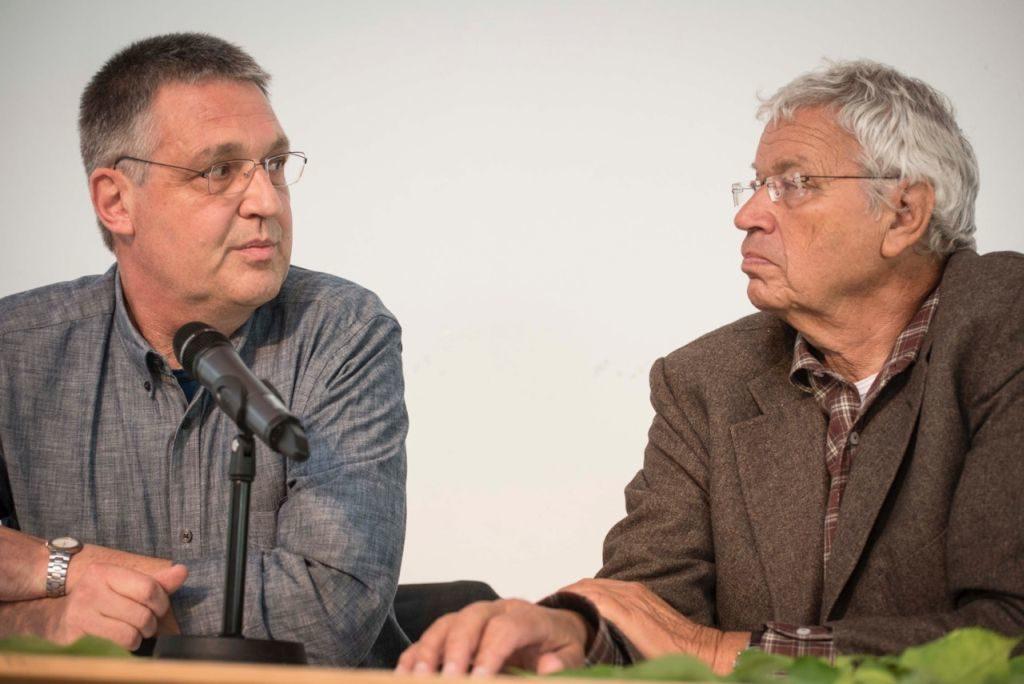 Markus Ederer und Gerhard Polt (v.l.)
