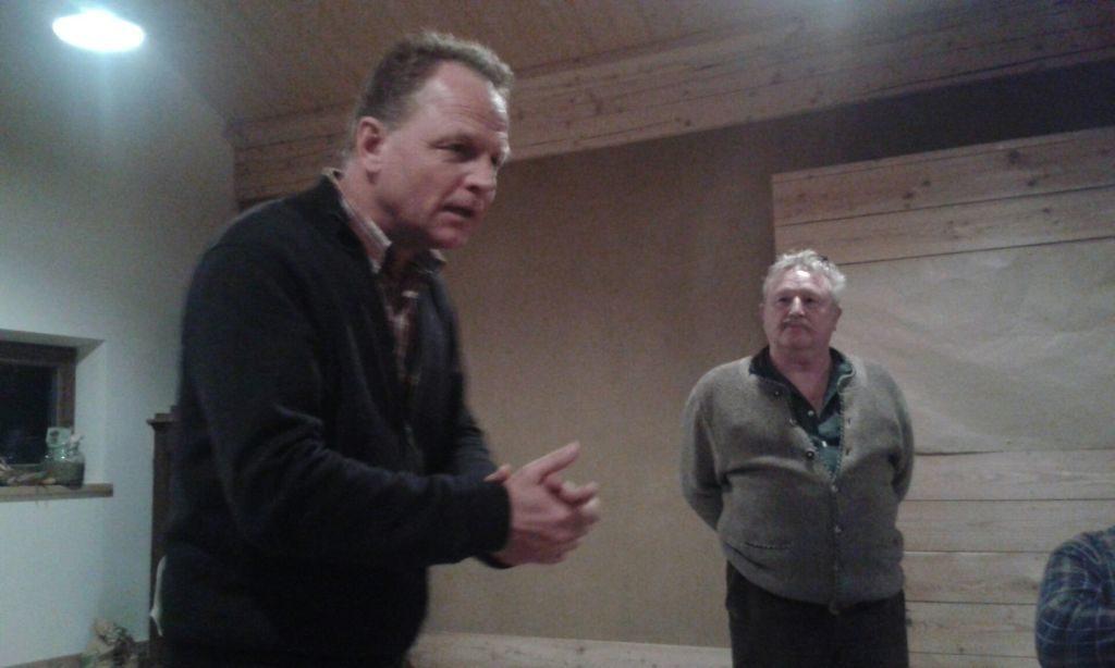 Christof Langer und Georg Hahn