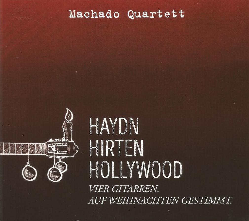 Machado Quartett - Im Gepäck: die neue Weihnachts-CD