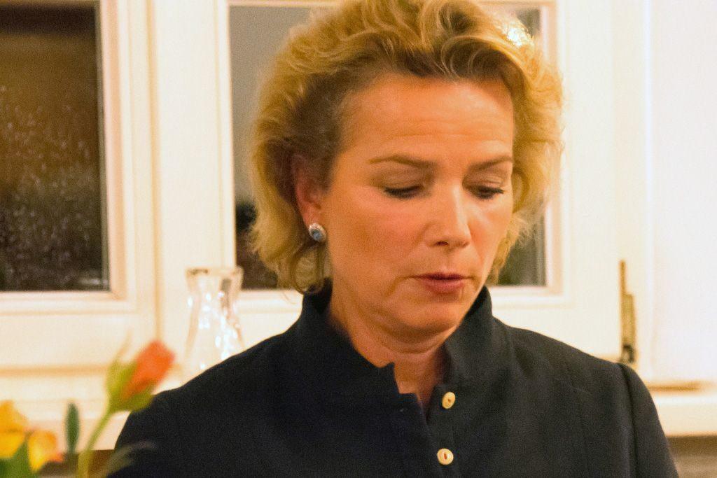 10. Reithamer Gespräche - Franziska Gräfin von Drechsel auf dem Podium