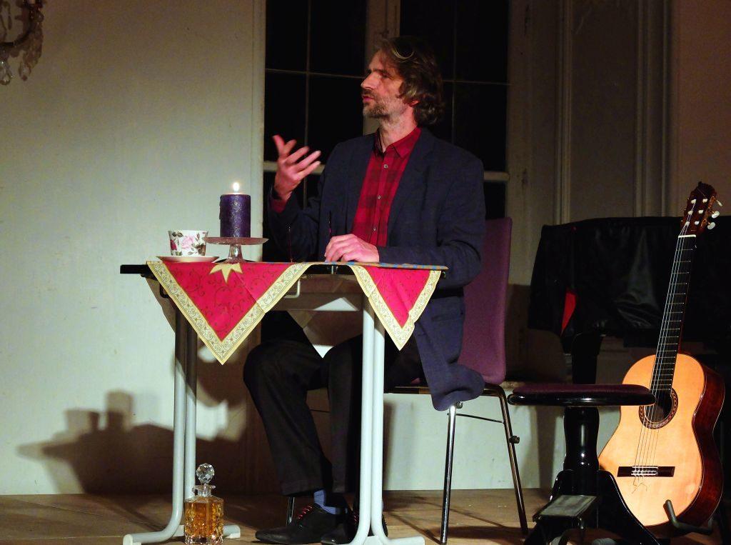 Machado Quartett - Ingo Veit liest launig schräge Weihnachtstexte