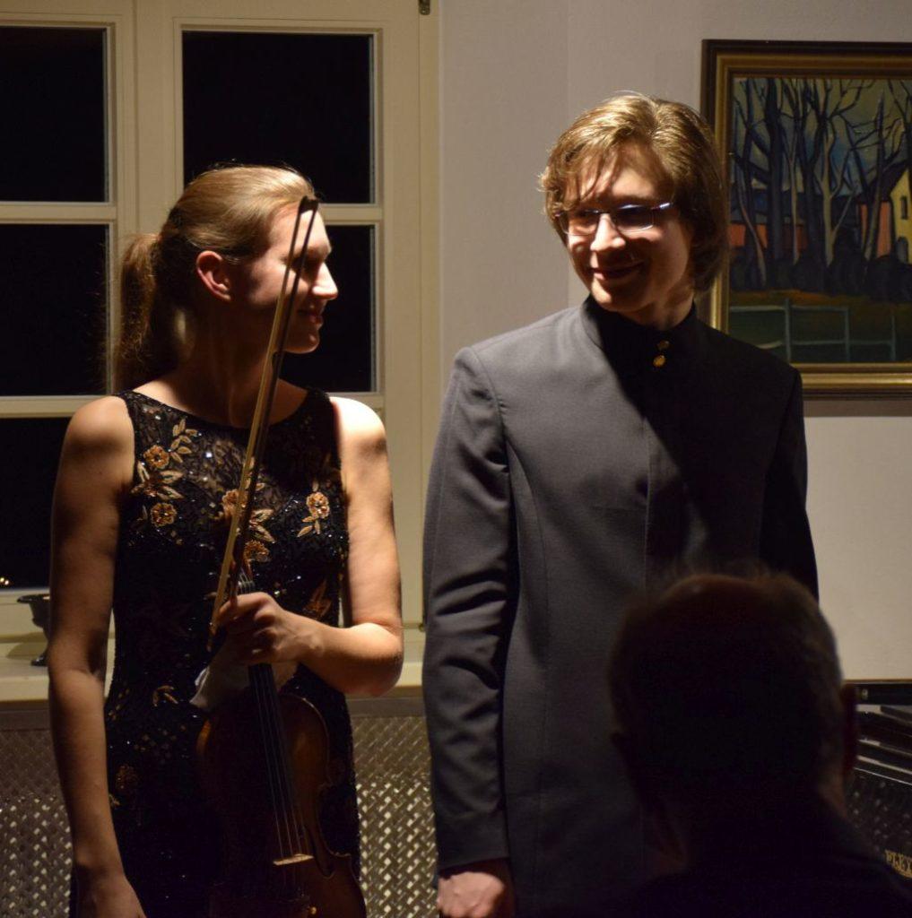 Amelie Böckheler und Amadeus Wiesensee