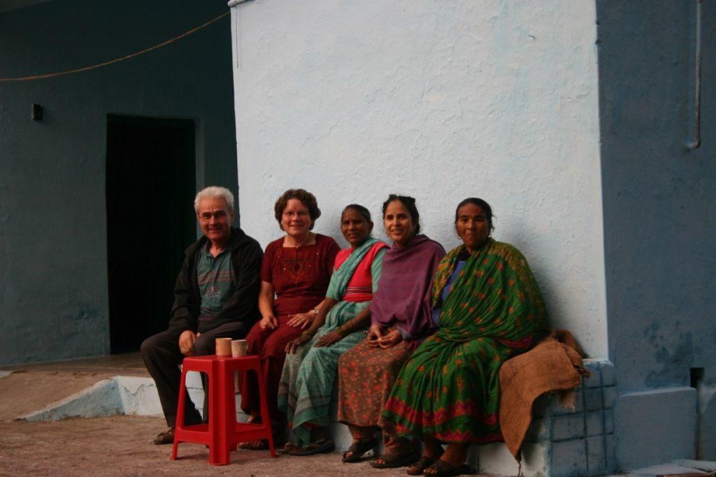Renate und Rudolf Hogger in Indien