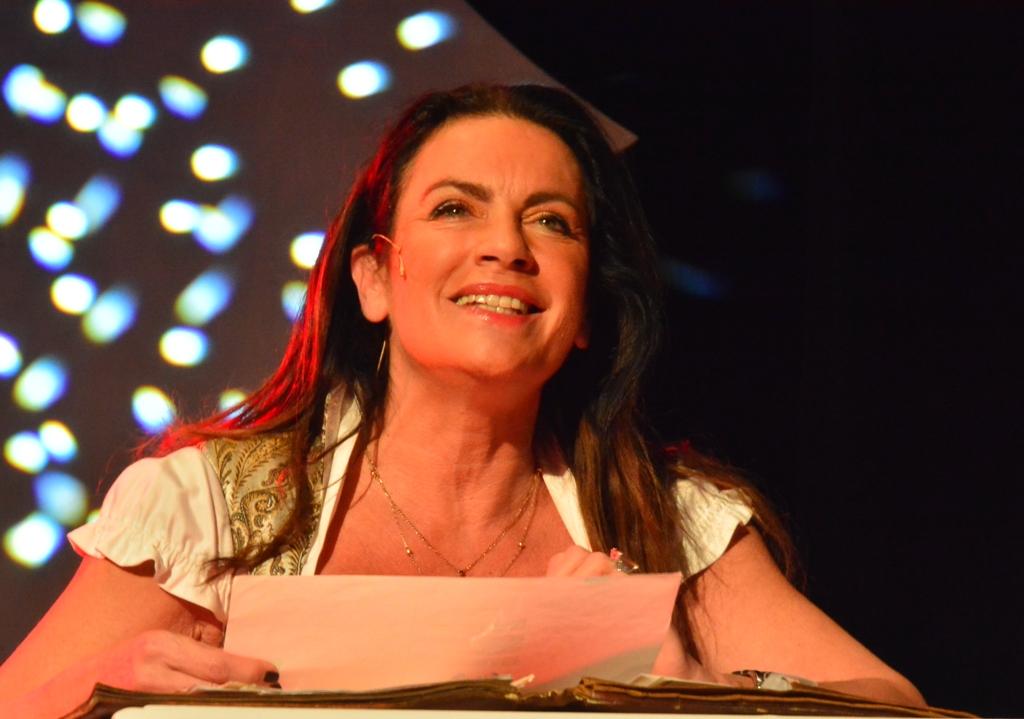 Christine Neubauer im Waitzinger Keller.