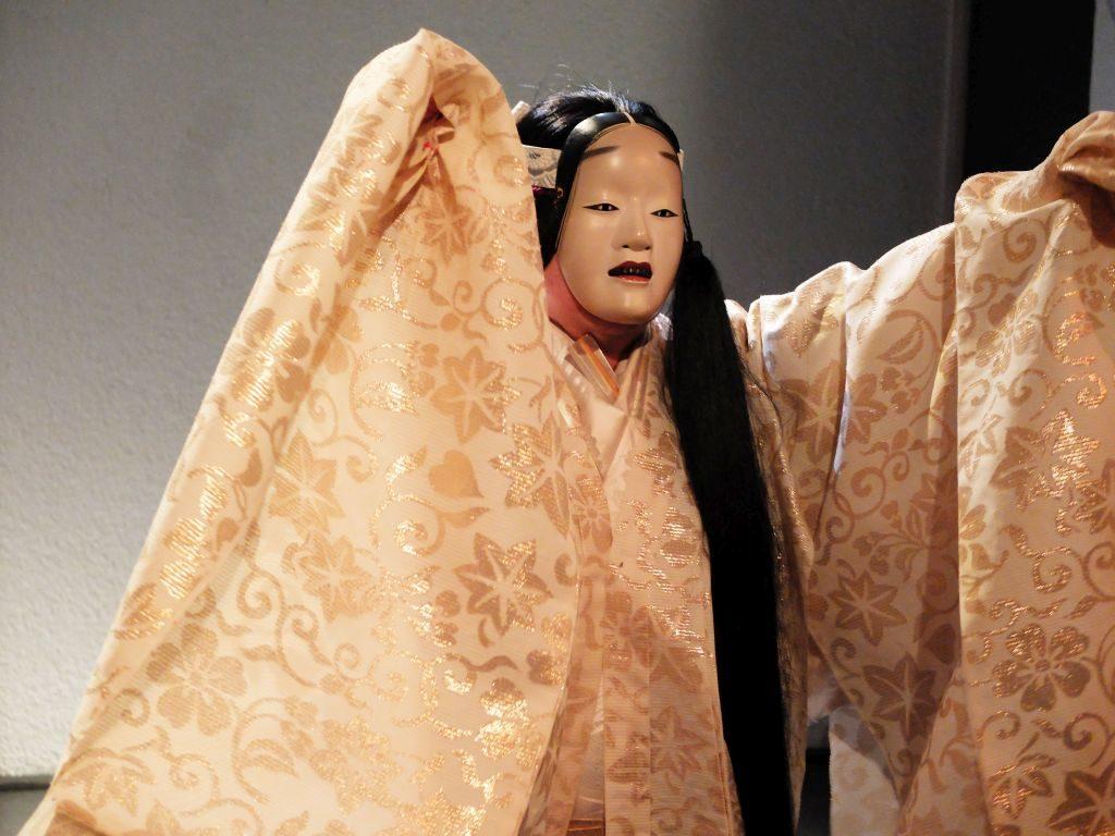 """Akira Matsui in der Rolle der """"Schneefrau"""""""