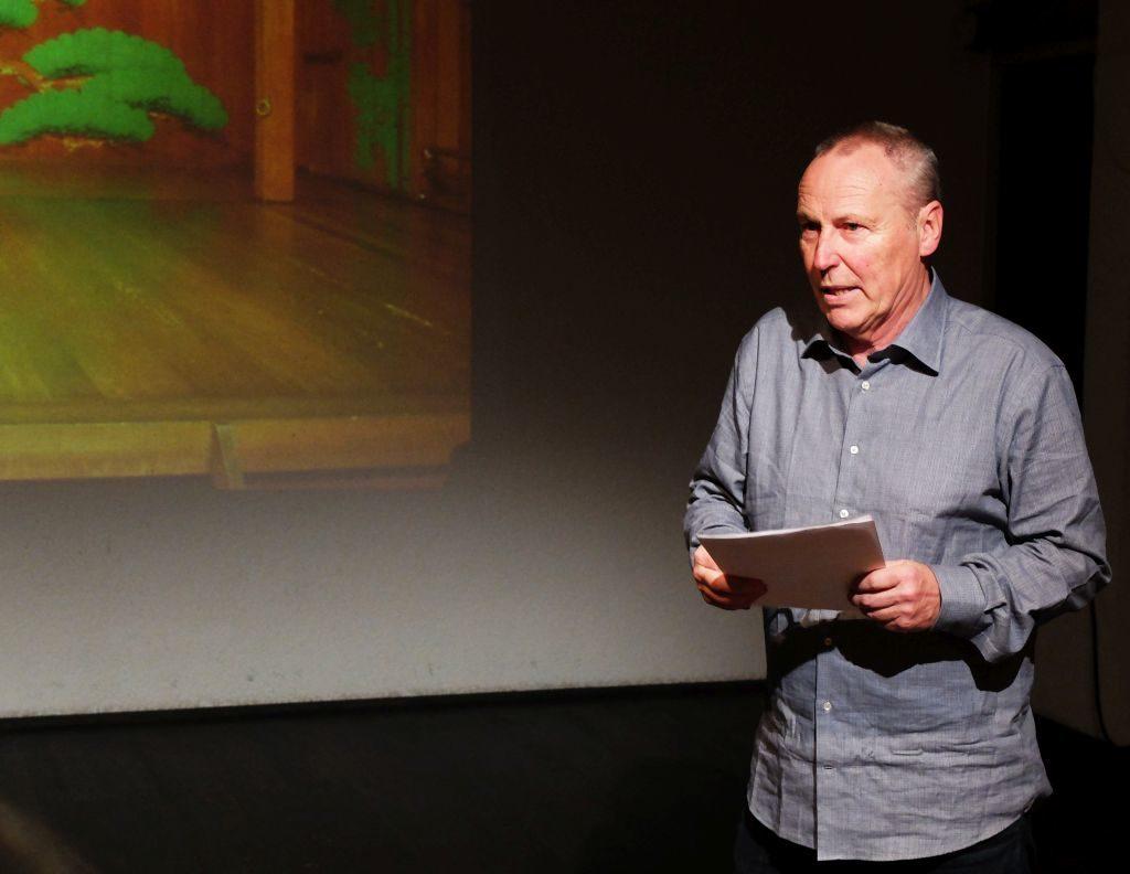 Axel Tangerding, Architekt und Theatermacher mit Leib und Seele.