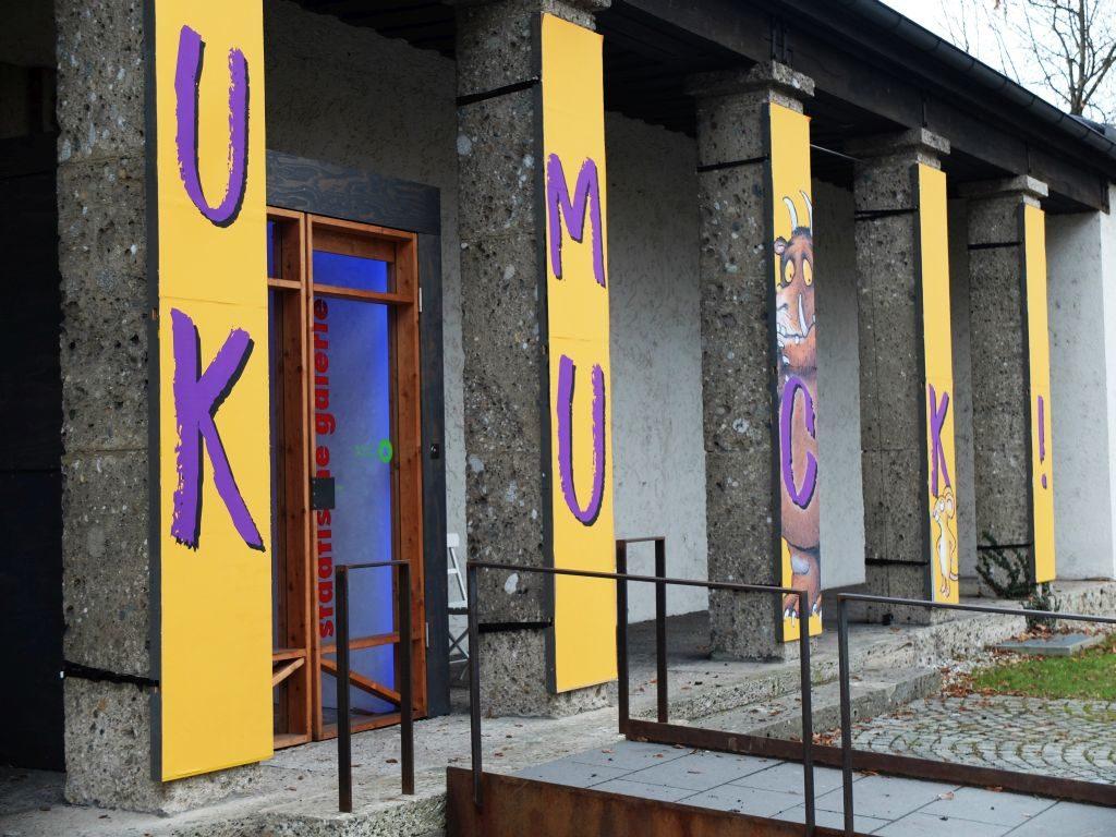 """Städtische Galerie Rosenheim """"Zum Kuckuck!"""" - Eingang"""