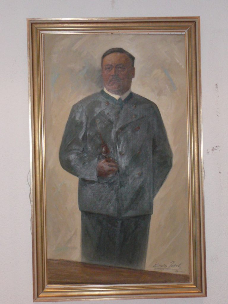 Dichter Ludwig Thoma