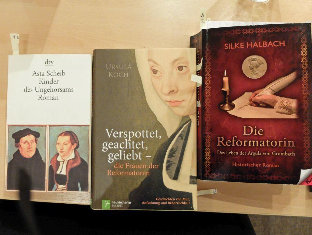 Frauen der Reformation in der Literatur.