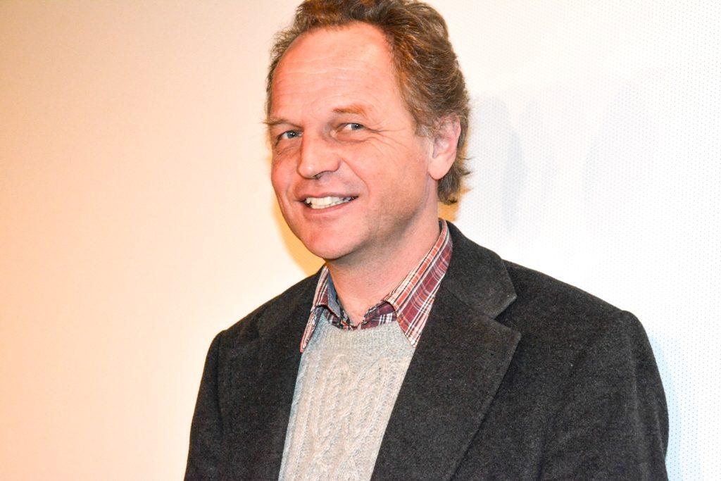 """Christof Langer vom KBW Miesbach präsentiert den Film """"Speed"""""""