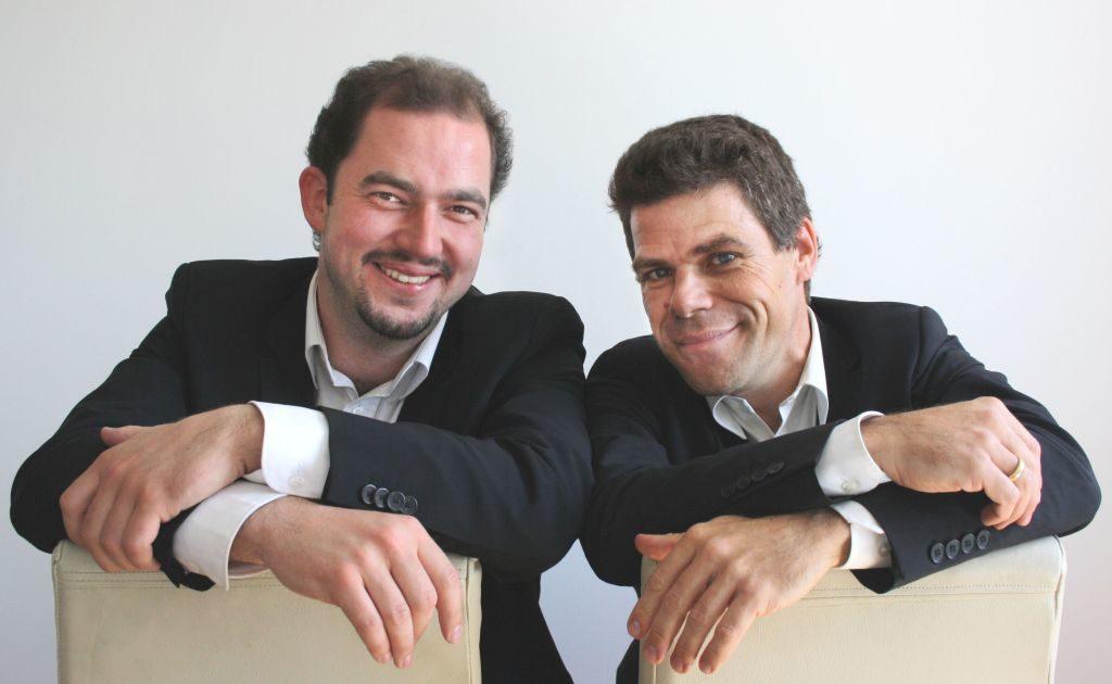 """""""Notenlos"""": Andreas Speckmann und Bastian Pusch."""