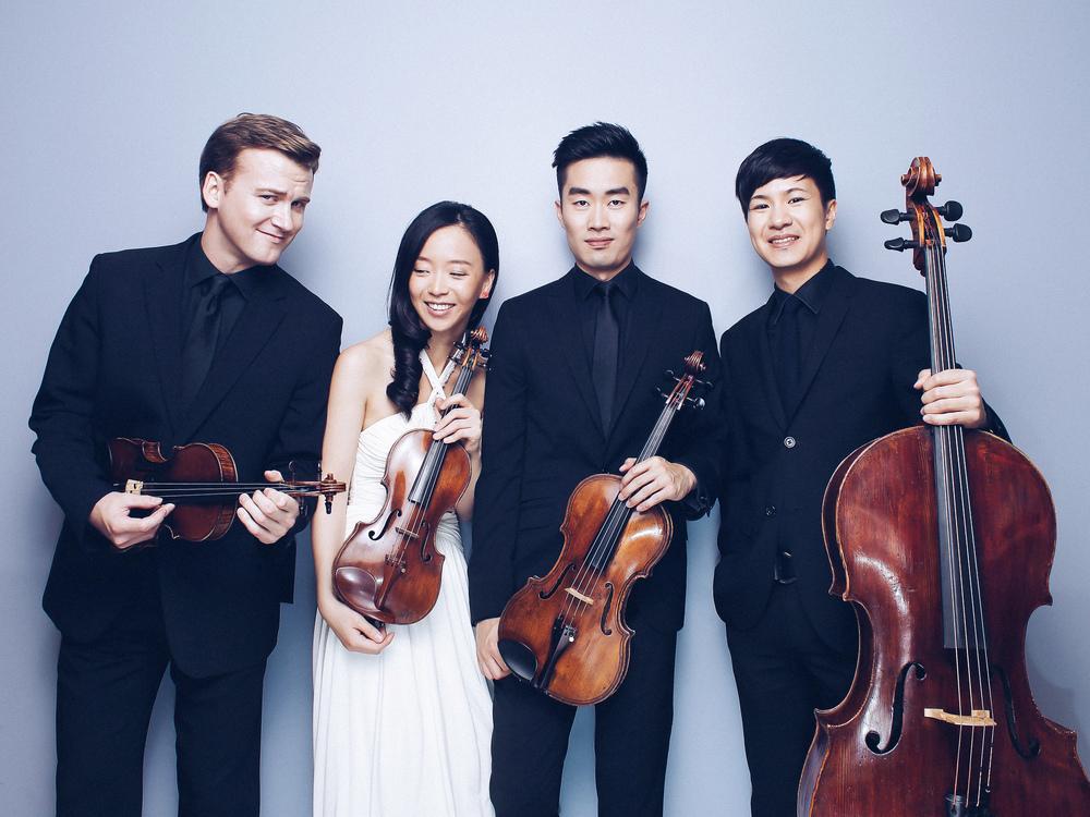 """""""Podium für junge Solisten"""" Rolston String Quartet"""