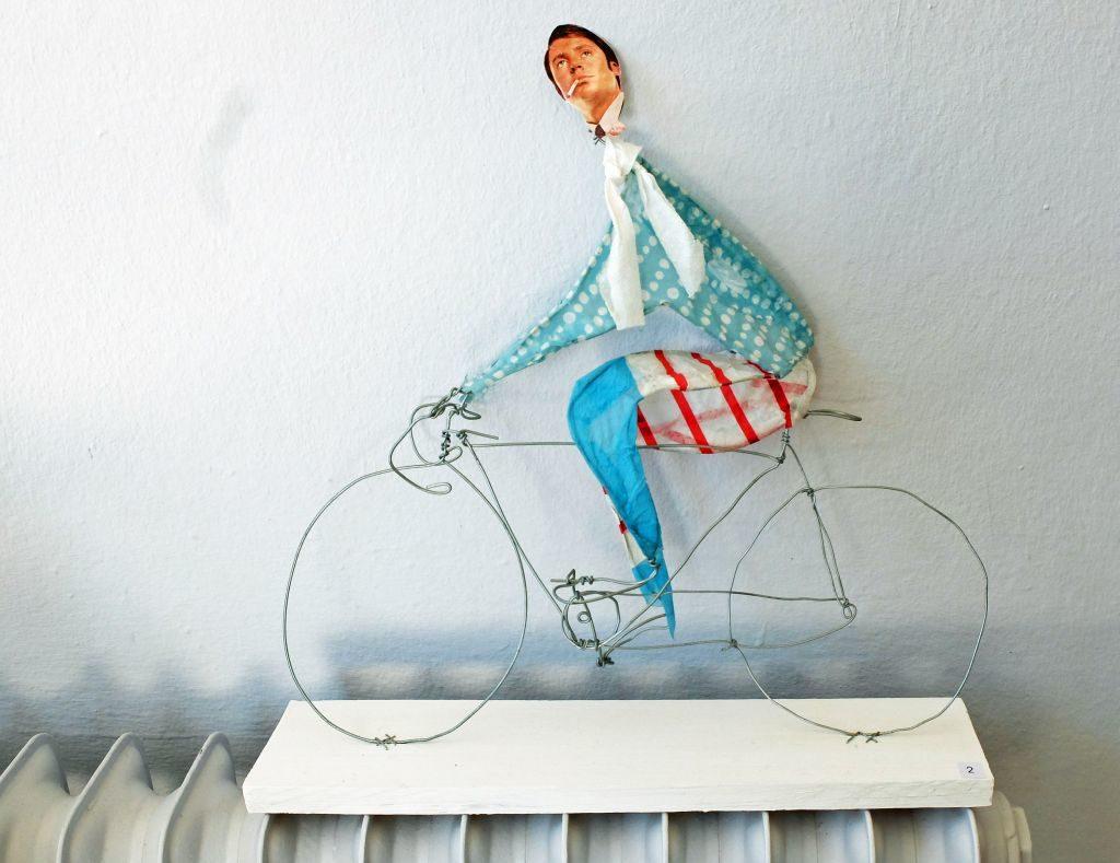 Cyril Mariaux - Der Radfahrer