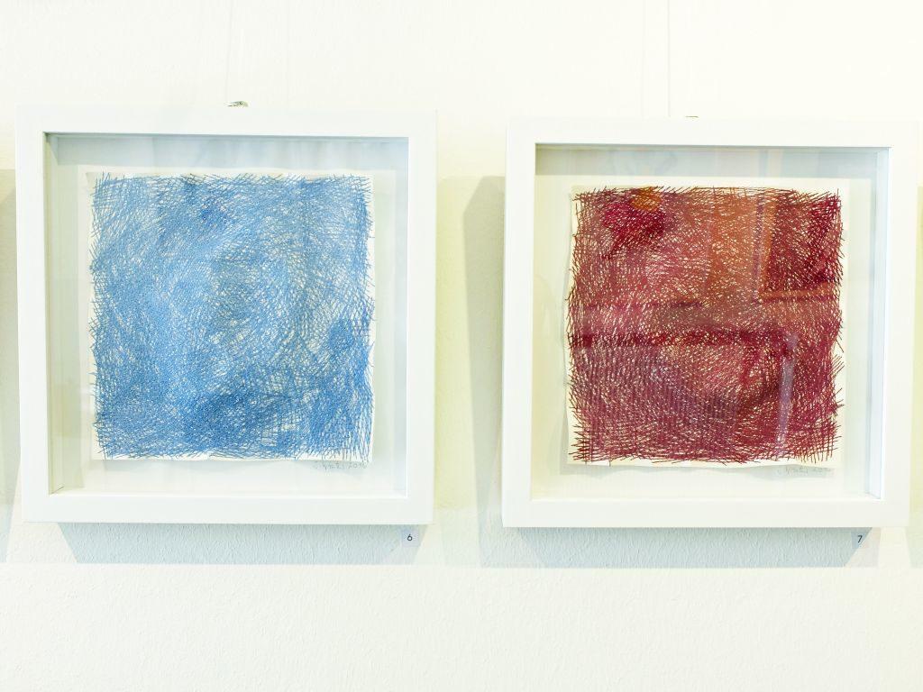 Die Fadenzeichnungen von Susanne Winter