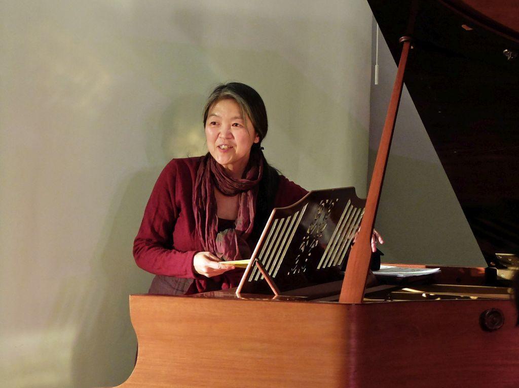 Masako Ohta am Flügel