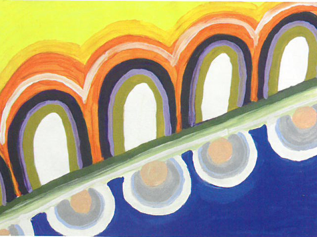 Niki Schindera Gestütztes Malen