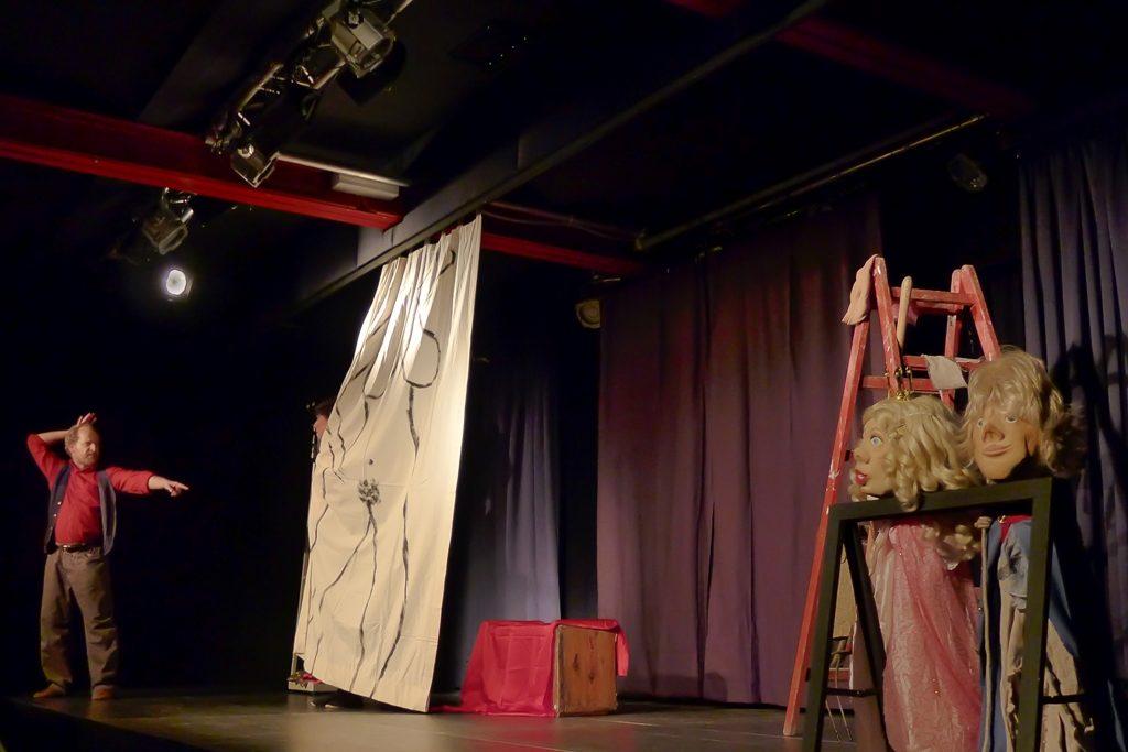 Theatergruppe Spielspur: Thomas Zimmermann als König