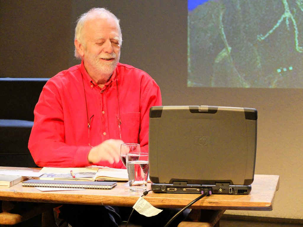 Journalist Claus Biegert spricht über den Nuclear-Free Future Award