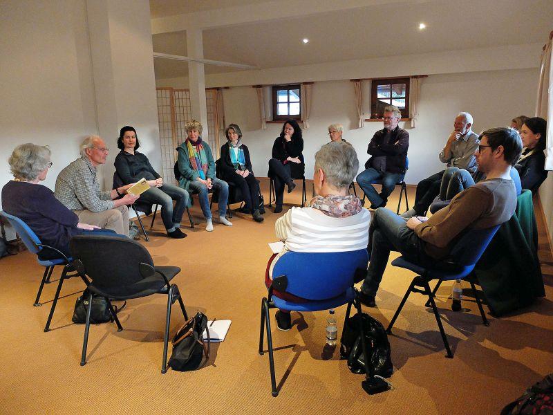 Gesprächsrunde im Domicilium Weyarn mit Dr. Peter Erlenwein