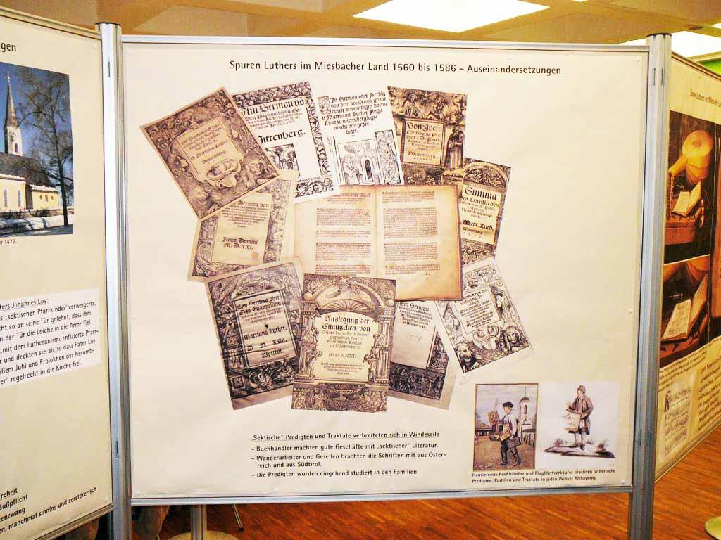 Druckschriften als historische Zeugnisse der Reformation im Miesbacher Oberland