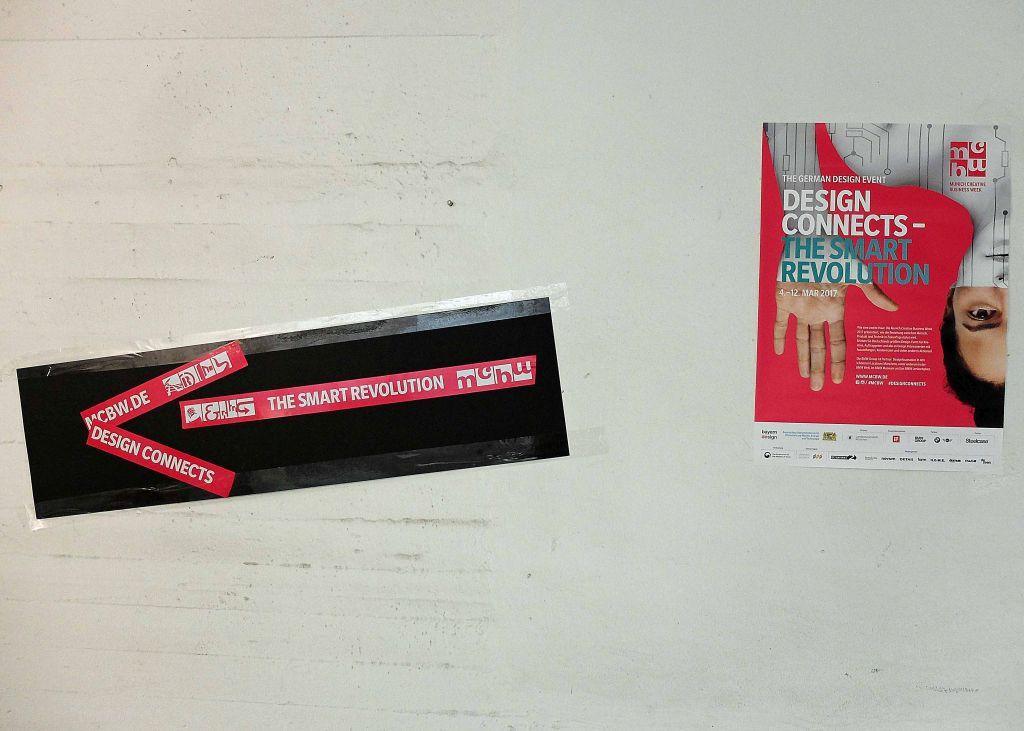 """Hier geht's lang zum Symposium """"MCMB meets MB"""" innerhalb der Designmesse mit dem Motto: """"Design connects – the smart revolution"""""""