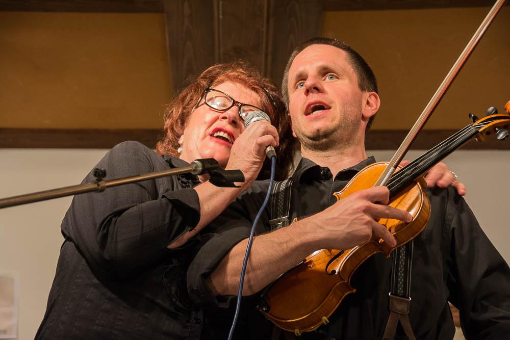 Annemarie Hagn und Christoph Bencic