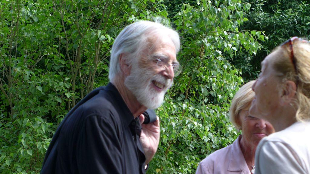 Michael Haneke und Erni Mangold