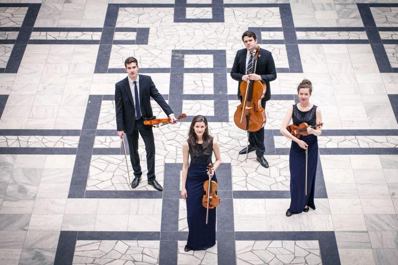 Aris Quartett beim Podium junger Solisten