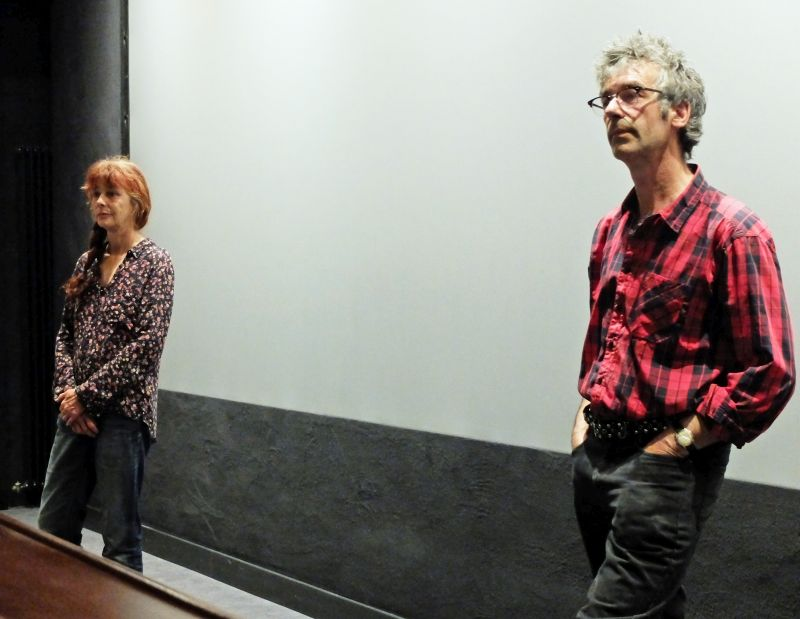 Wild Plants - Regisseur Nicolas Humbert und Schnitttechnikerin Simone Fürbringer, Foto: Ines Wagner