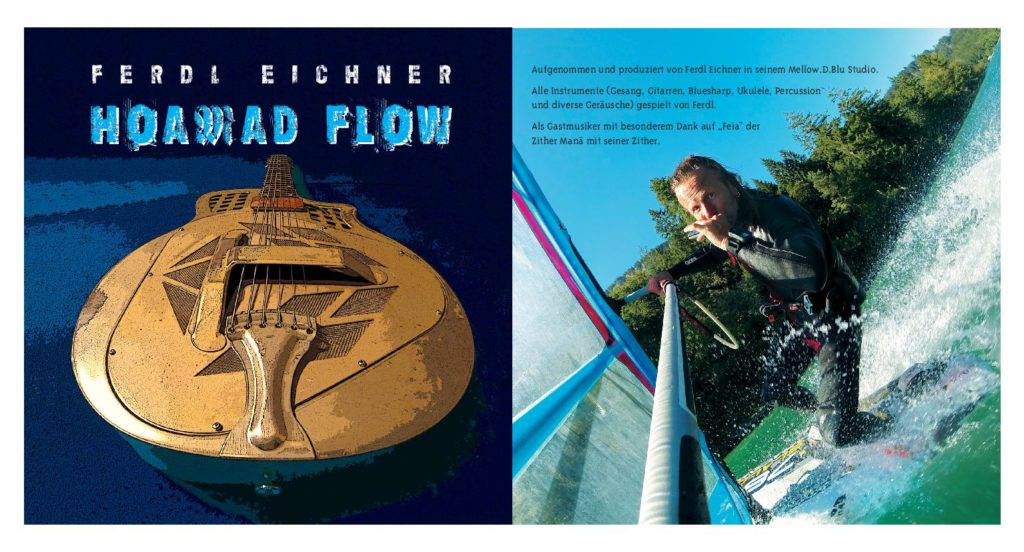 "CD Cover ""Hoamad Flow"" Ferdl Eichner"