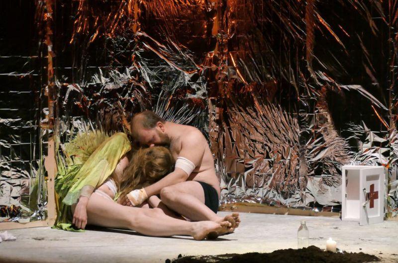 "Waldviertler Hoftheater - Schlussszene des ""Faust"" Foto: Hartl-Gobl"