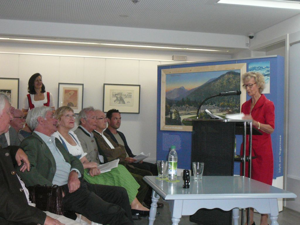 """Eröffnung der Ausstellung """"Trügerische Idylle"""""""