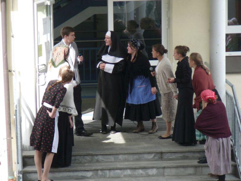 "Miesbach Reformation - Protest gegen den ""Kruzifixerlass"". Foto: Lautenbacher"