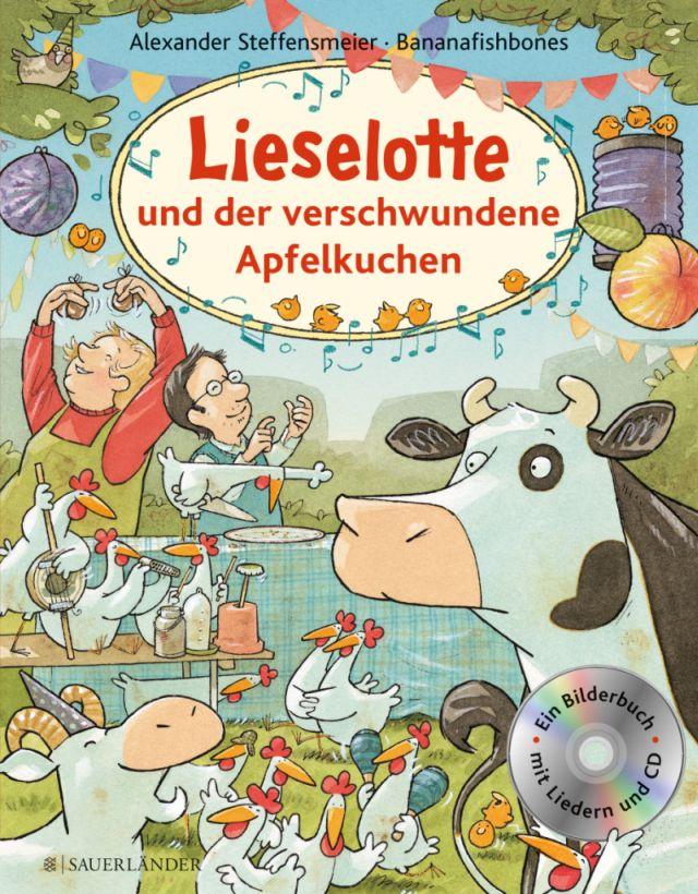 Buchcover Kuh Lieselotte und der verschwundene ApfelkuchenFoto: S. Fischer Verlag