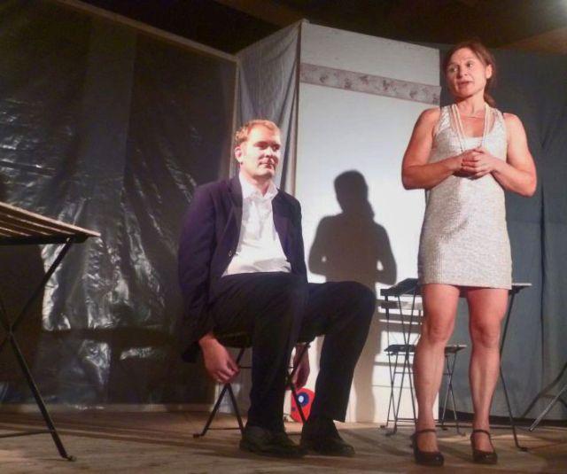 Ensemble Theatrissimo- Grillabend - Anna Reisberger und Gerhard Hoffmann