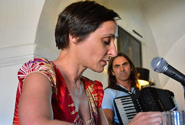 Kulturbrücke Fratres - Lydia Starkulla und Günther Nowak. Foto: Petra Kurbjuhn