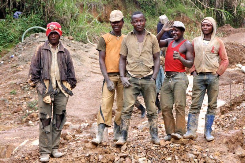 Kupfer und Coltan