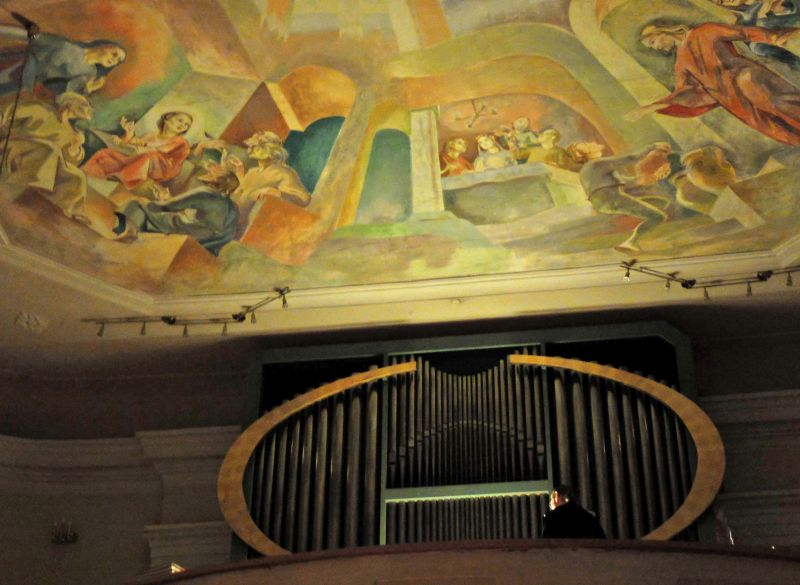 Die Orgel von Walter Vonbank in der Pfarrkirche zu Langegg/NÖ - Organist Emanuel Schmelzer-Ziringer