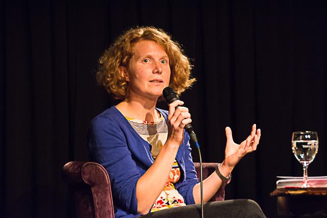 Die Schlierseerin Nina Treu vom Konzeptwerk Neue Ökonomie Leipzig - zur Degrowth Bewegung