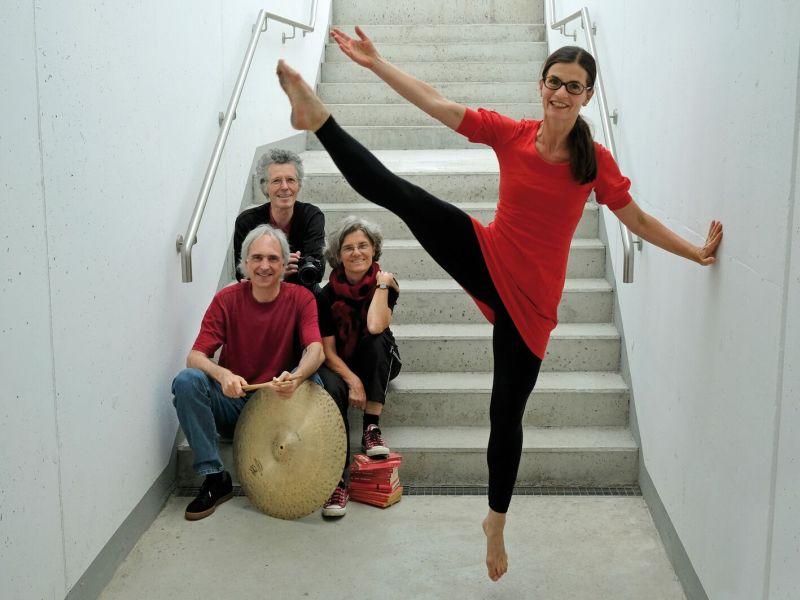 Lichtbildfestival - Hubert Jeromin, Manfred Lehner, Stefanie Groß (hinten, v.l.), Monika Lehner