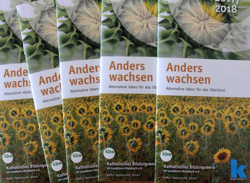 """Die neue Broschüre """"Anders wachsen von KulturVision und dem KBW - ein Beitrag zu Degrowth"""