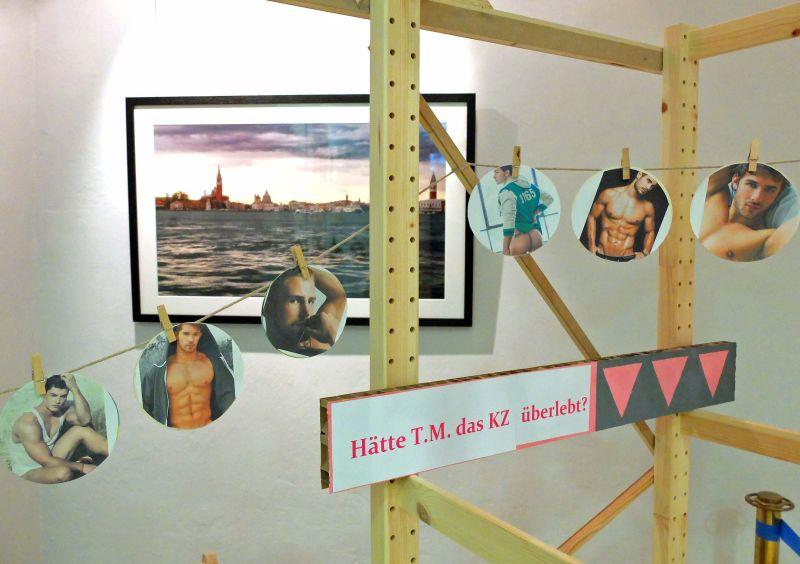 "Heinz Stoewer, Installation ""onehundret years of life and death"" (Ausschnitt)"