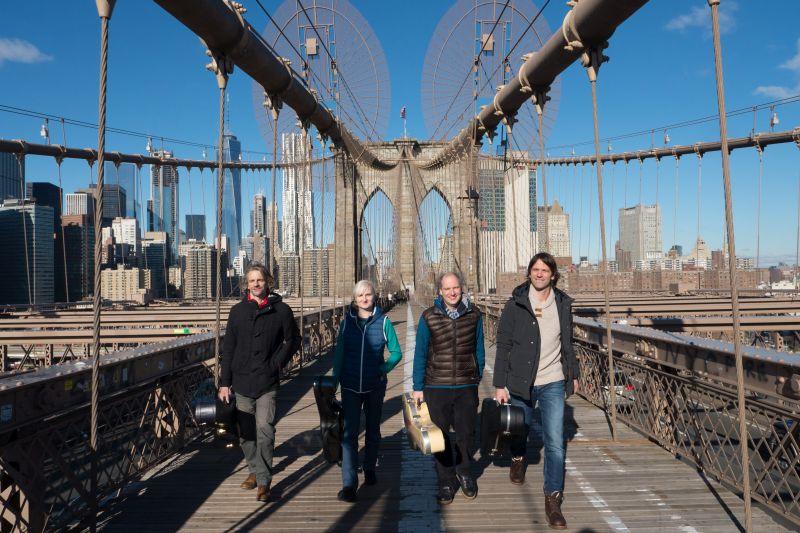 Machado Quartett auf Erfolgskurs in New York.