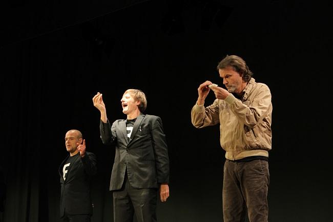 Metropoltheater München: Schuld und Schein.
