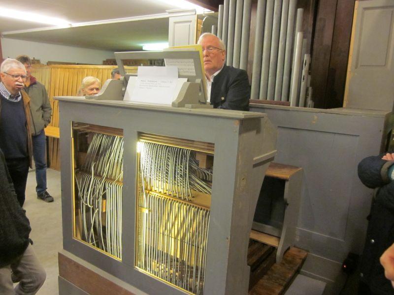 Fünf Orgeltechniken