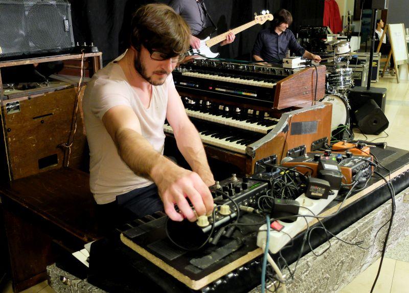 Organ Explosion: Hansi Enzensberger an der legendären Hammondorgel B3