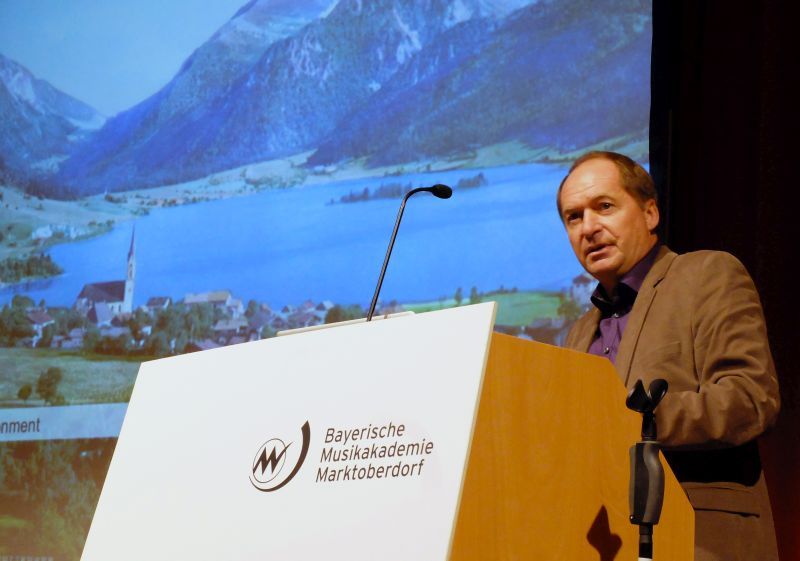 Anton Stetter, Slyrs-Whiskydestillerie, Schliersee - Vortrag beim Symposium Stadt.Land.Schluss. von designstudio koop