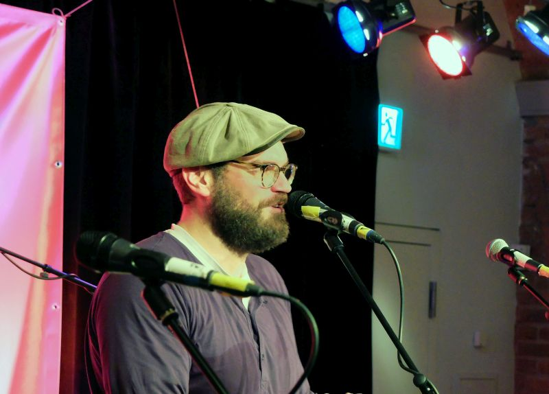 Vinzenz Semmler war mit seiner Band Mountain Lake Vista Gastgeber des Keller Kultur Festivals