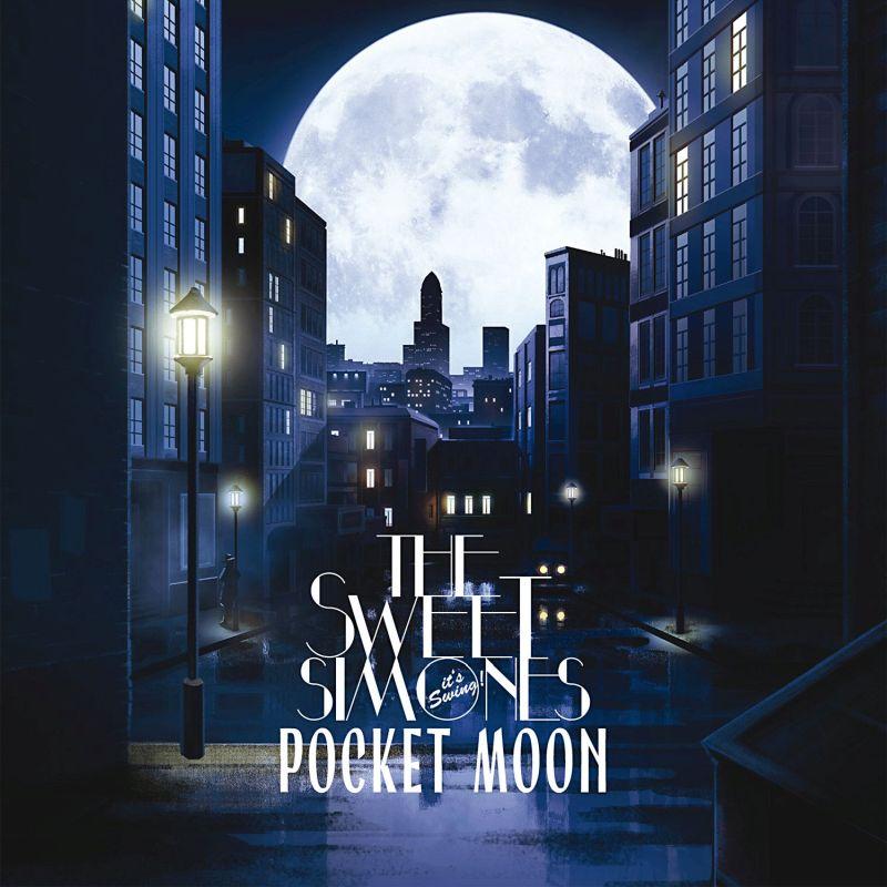 """Cover von """"Pocket Moon"""" - CD mit 10 Eigenkompositionen mit energiegeladenem Neo Swing"""